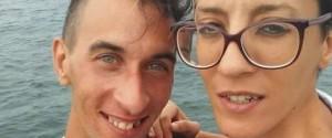 La vittima Alessandra Immacolata Musarra con il fidanzato Cristian Ioppolo