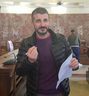 Il consigliere comunale Alessandro Russo