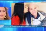 """Alessia Macari si sposa, le lacrime a Domenica Live: """"Che tristezza senza mio nonno..."""" - Video"""