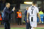 """Juventus, Allegri non convoca Cristiano Ronaldo contro il Genoa: """"Deve riposare"""""""