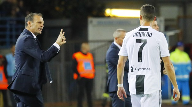 juventus, Cristiano Ronaldo, Massimiliano Allegri, Sicilia, Sport