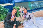 Angelo e Clarissa, due giovani di Lamezia campioni di danza sportiva negli Usa