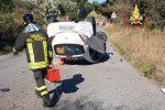 Catanzaro, scansa un cinghiale e si ribalta con l'auto: quasi illeso il conducente