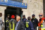 Messina, indagato per concussione: brigadiere sale sul Campanile e si proclama innocente - Le foto