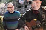 Lo chef stellato Bruno Barbieri a Palermo ringrazia per l'accoglienza a suon di musica
