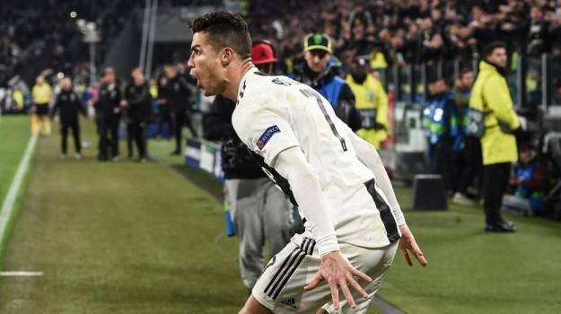 champions league, juventus, Cristiano Ronaldo, Sicilia, Sport