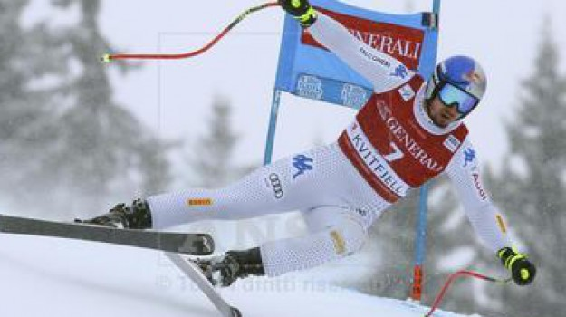classifica di disciplina, coppa SuperG, sci, slovenia, super Paris, Beat Feuz, Christof Innerhofer, Dominik Paris, Kjetil Jansrud, Peter Runggaldier, Vincent Kriechmayr, Sicilia, Sport