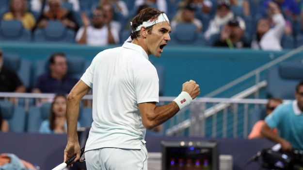 atp miami, tennis, Marco Cecchinato, Roger Federer, Sicilia, Sport