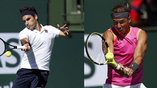 atp indian wells, tennis, Rafael Nadal, Roger Federer, Sicilia, Sport