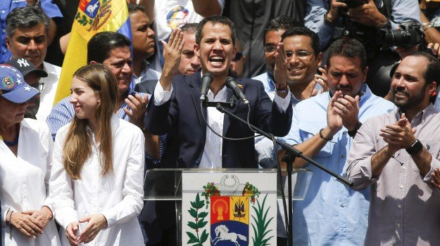 venezuela, Juan Guaidò, Sicilia, Mondo