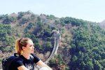 Ilary Blasi si prende una pausa e vola in Cina: sui social scatto davanti alla Grande Muraglia