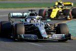 In Australia subito pole per Hamilton, la Ferrari di Vettel parte terza