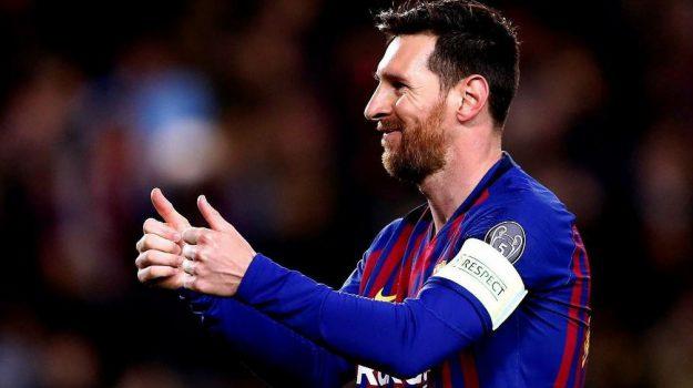 Lionel Messi, Sicilia, Sport