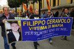 Corteo di Libera contro le mafie a Catanzaro: le foto della manifestazione