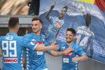 Serie A, Roma travolta in casa dal Napoli e l'Atalanta ora sogna la Champions