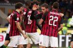 Il Milan batte il Sassuolo (1-0) e scavalca l'Inter al terzo posto