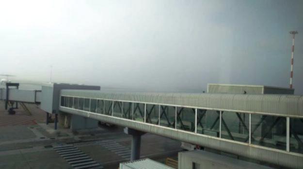 aeroporto palermo, nebbia palermo, punta raisi, Sicilia, Cronaca