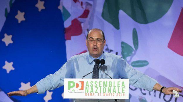pd, Nicola Zingaretti, Paolo Gentiloni, Sicilia, Politica