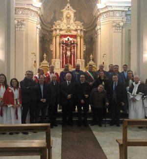 I cavalieri dell'Ordine Costantiniano di San Giorgio a Monterosso Calabro