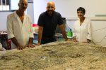 Restauro del Nettuno sulla Biga