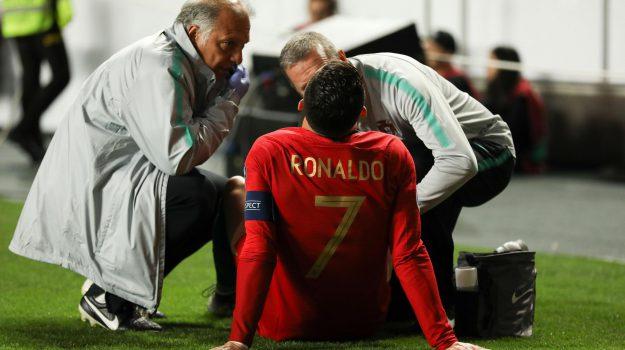 infortunio ronaldo, juventus, Cristiano Ronaldo, Sicilia, Sport