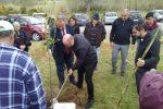 Festa di primavera fra i ruderi di Dinami: piantati 250 alberi