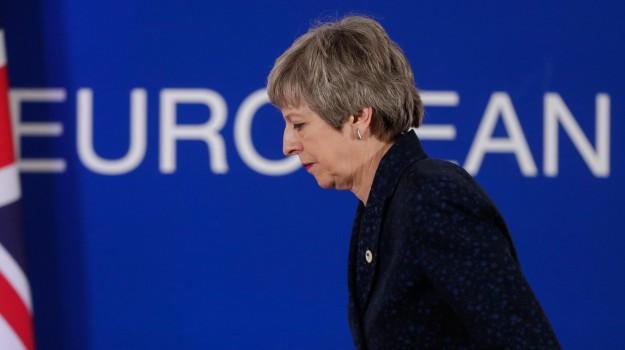 brexit, Theresa May, Sicilia, Mondo