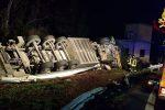 Tir si ribalta sulla Catania-Messina, muore camionista: 4 vittime sulle strade siciliane - Foto