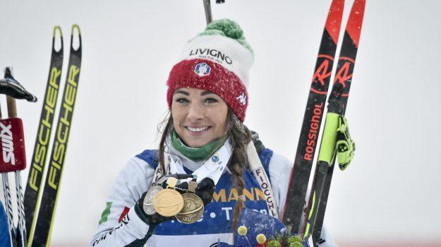 biathlon, mass start, Dorothea Wierer, Sicilia, Sport