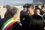 La visita di Xi Jinping a Palermo, ecco le foto