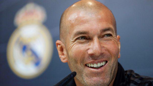 calcio, real madrid, Florentino Perez, Zinedine Zidane, Sicilia, Sport