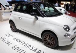 A Ginevra, le Fiat del 120esimo anniversario Una nuova generazione per celebrare la storia del marchio - LaPresse