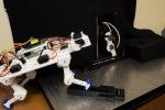 Una nuova gamba robotica impara a camminare in modo autonomo come gli animali (fonte: Matthew Lin)