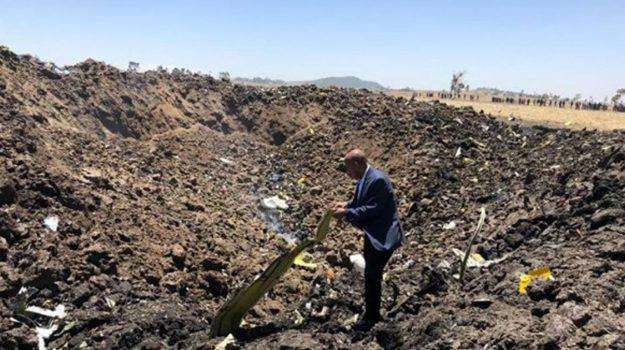 Aereo caduto in Etiopia, Sicilia, Mondo