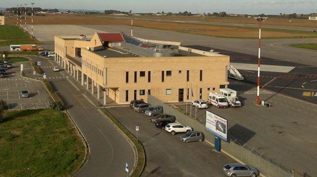 aeroporto di crotone, aeroporto di Reggio Calabria, trasporti, Calabria, Economia