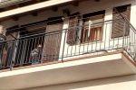 Anziani morti in casa a Lamezia, le immagini dal quartiere Miraglia