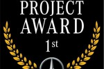 Showroom Project award 2018, Mercedes premia Carraro Spa