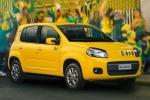 In una foto d'archivio la versione speciale della Fiat Novo Uno Rua per i Mondiali del 2014