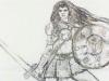 Nel cuore di Cosenza una scultura dedicata a Bruzia, la prima donna guerriera occidentale