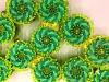 Le particelle-robot capaci di assemblarsi come un unico organismo (fonte: Felice Frankel, MIT)