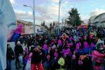 Musica, carri e balli a Petralia Soprana in occasione del Carnevale: le foto
