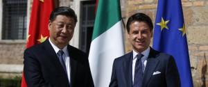 Xi Jinping e Giuseppe Conte