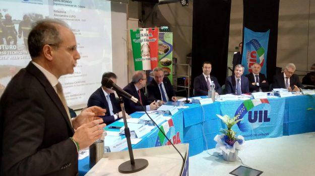 lamezia, sindacati, vigili del fuoco, Fabio Dattilo, Stefano Candia, Catanzaro, Calabria, Politica