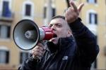 Rome Forza Nuova head arrested for attack on reporters