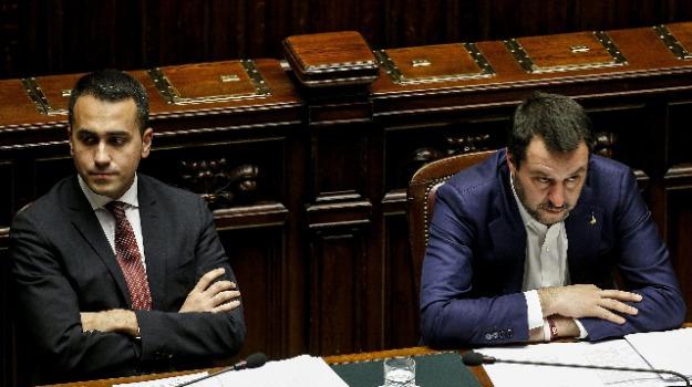 governo, lega, movimento 5 stelle, Luigi Di Maio, Matteo Salvini, Sicilia, Politica