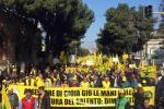 I trattori a Lecce (fonte: Coldiretti)