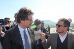 Il ministro Toninelli arriva a Messina ma De Luca diserta l'incontro