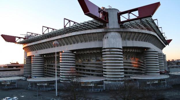 inter, milan, san siro, Beppe Sala, Paolo Scaroni, Sicilia, Sport