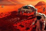 Raffigurazione di una colonia umana su Marte. (fonte: NASA/Pat Rawlings)