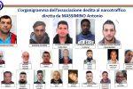 Accordo mafia-'ndrangheta per la droga, scatta il blitz: nomi e foto